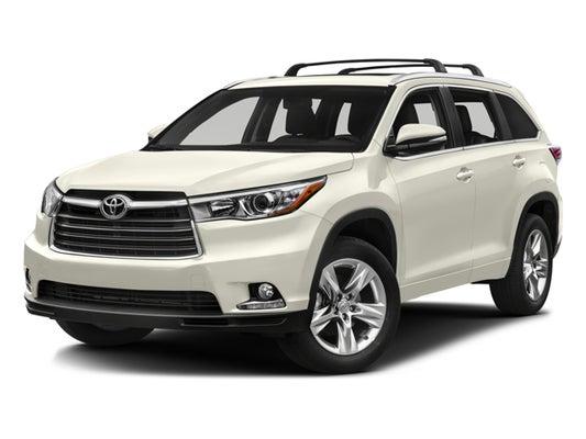 2016 Toyota Highlander Limited >> 2016 Toyota Highlander Limited